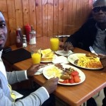 Breakfast With Award Winning Actor Prince David Osei + Photos & Video!